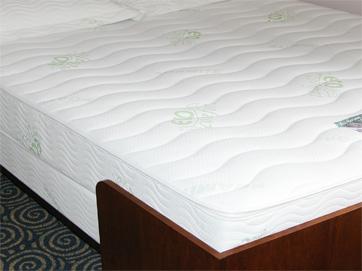 natural memorapedic visco elastic memory foam mattress