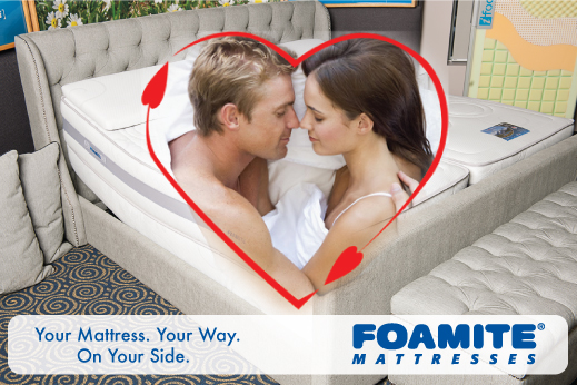 The Best Mattress For Odd Sized Couples Foamite For